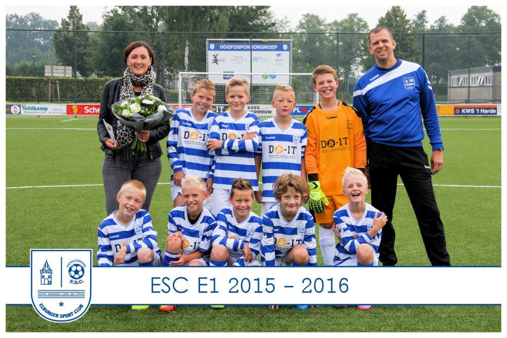 ESC E1 sponsor