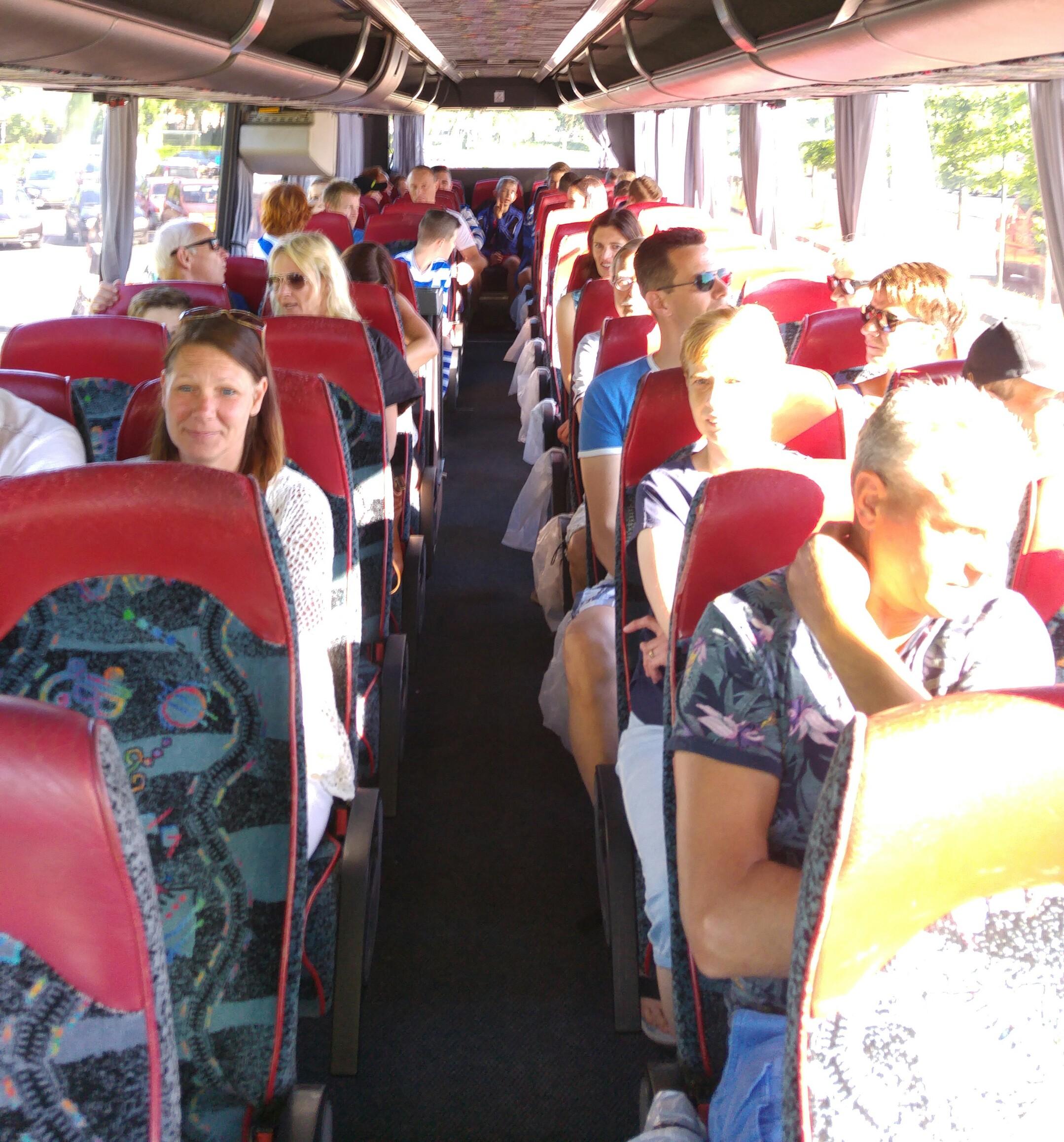 JO15-3 onderweg voor hun bekerwedstrijd - Elburger SC