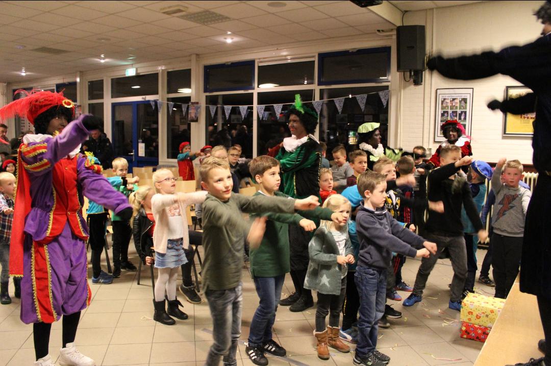 Sinterklaasfeest succesvol - Elburger SC