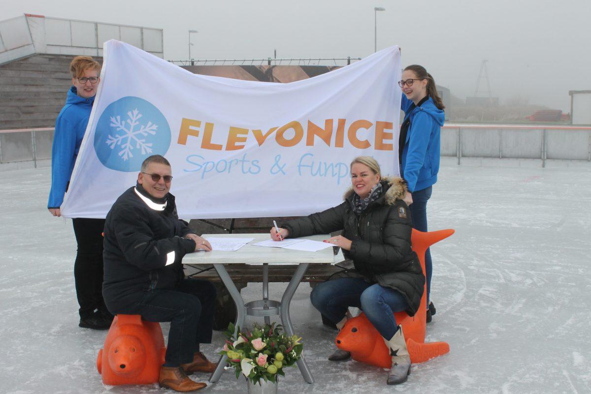 Sponsoring Flevonice biedt voordelen voor clubleden en businessclub - Elburger SC