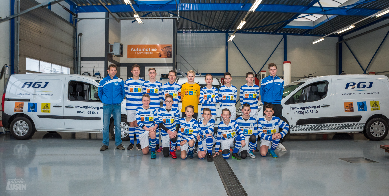 AGJ sponsort JO15-3 - Elburger SC