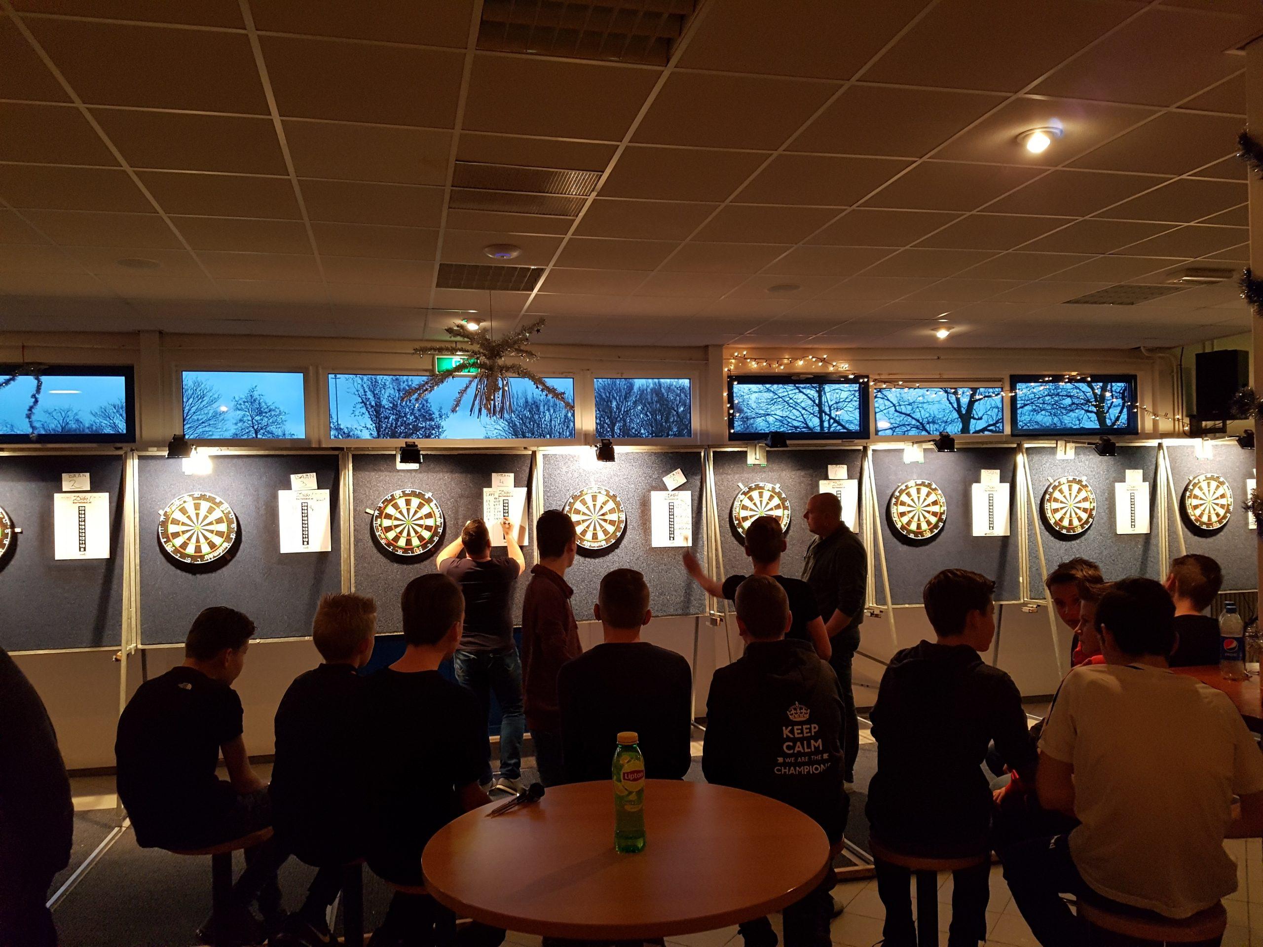 Tweede editie Gerrit Nagelhout darttoernooi groot succes - Elburger SC
