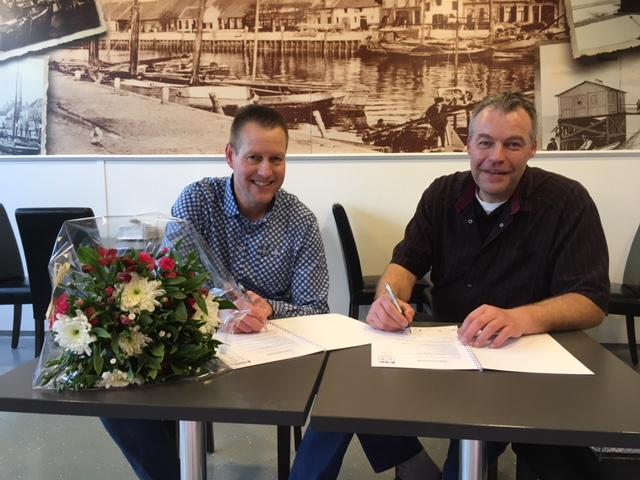 Viswinkel het Bottertje verlengd sponsorcontract met Elburger Sportclub - Elburger SC