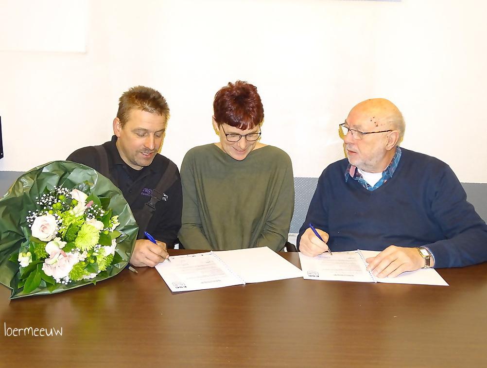 Garage Koornberg opnieuw drie jaar bordsponsor ESC. - Elburger SC