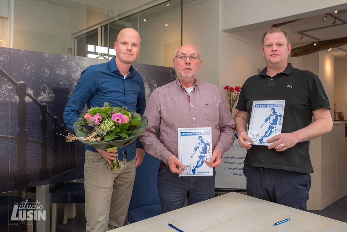 Boeve & van Dorp Administratie & Advies nieuwe CO-sponsor - Elburger SC
