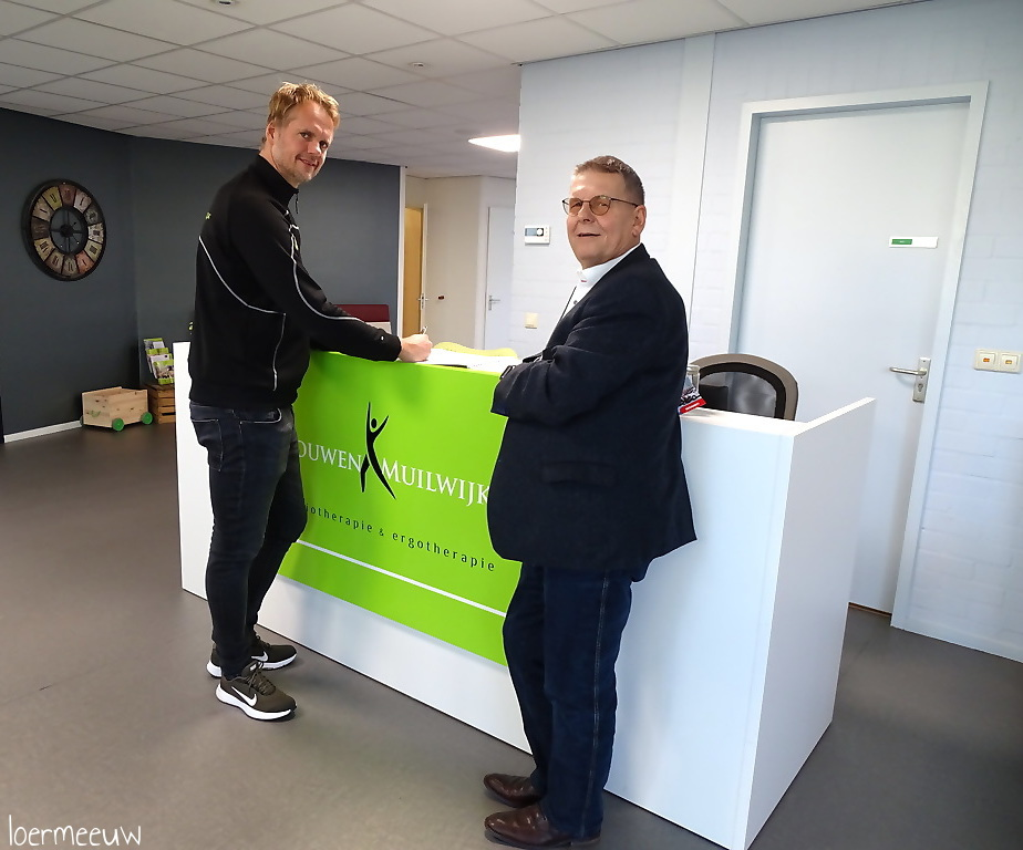 Fysiotherapie Louwen Muilwijk verlengd sponsorcontract - Elburger SC
