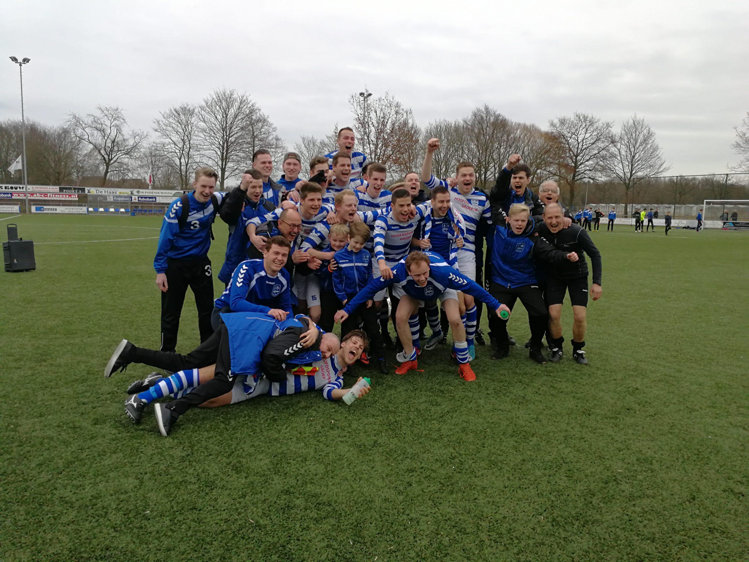Periode-titel voor Elburger Sportclub in extremis - Elburger SC