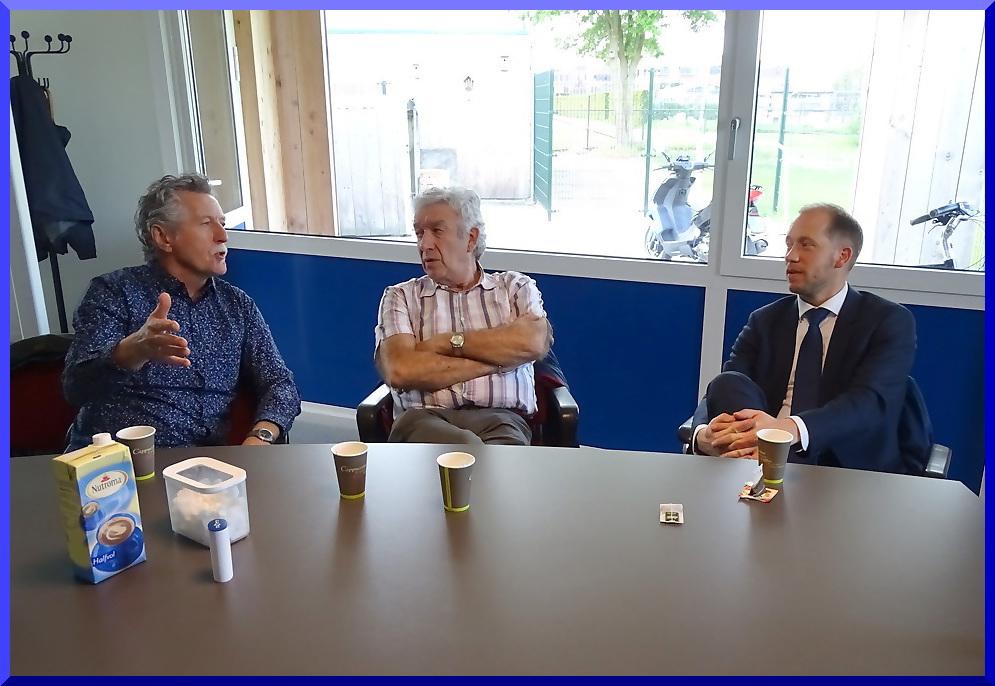 Burgemeester op bezoek bij ESC - Elburger SC