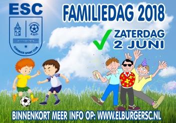 Update familiedag 2 juni - Elburger SC