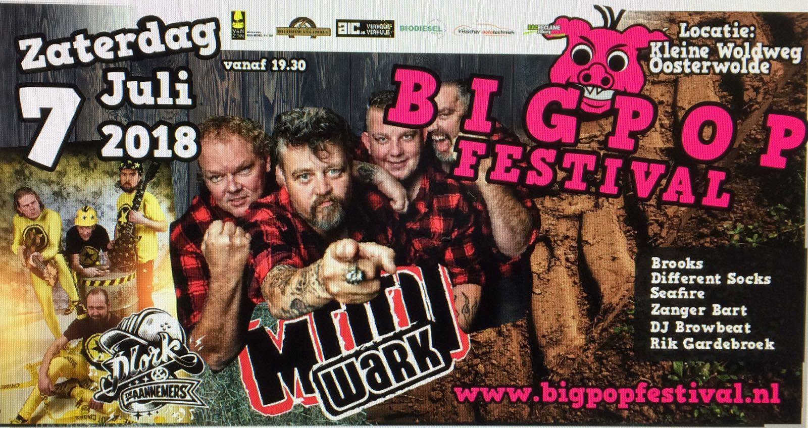 Bigpop Festival sponsort Rad van Avontuur! - Elburger SC