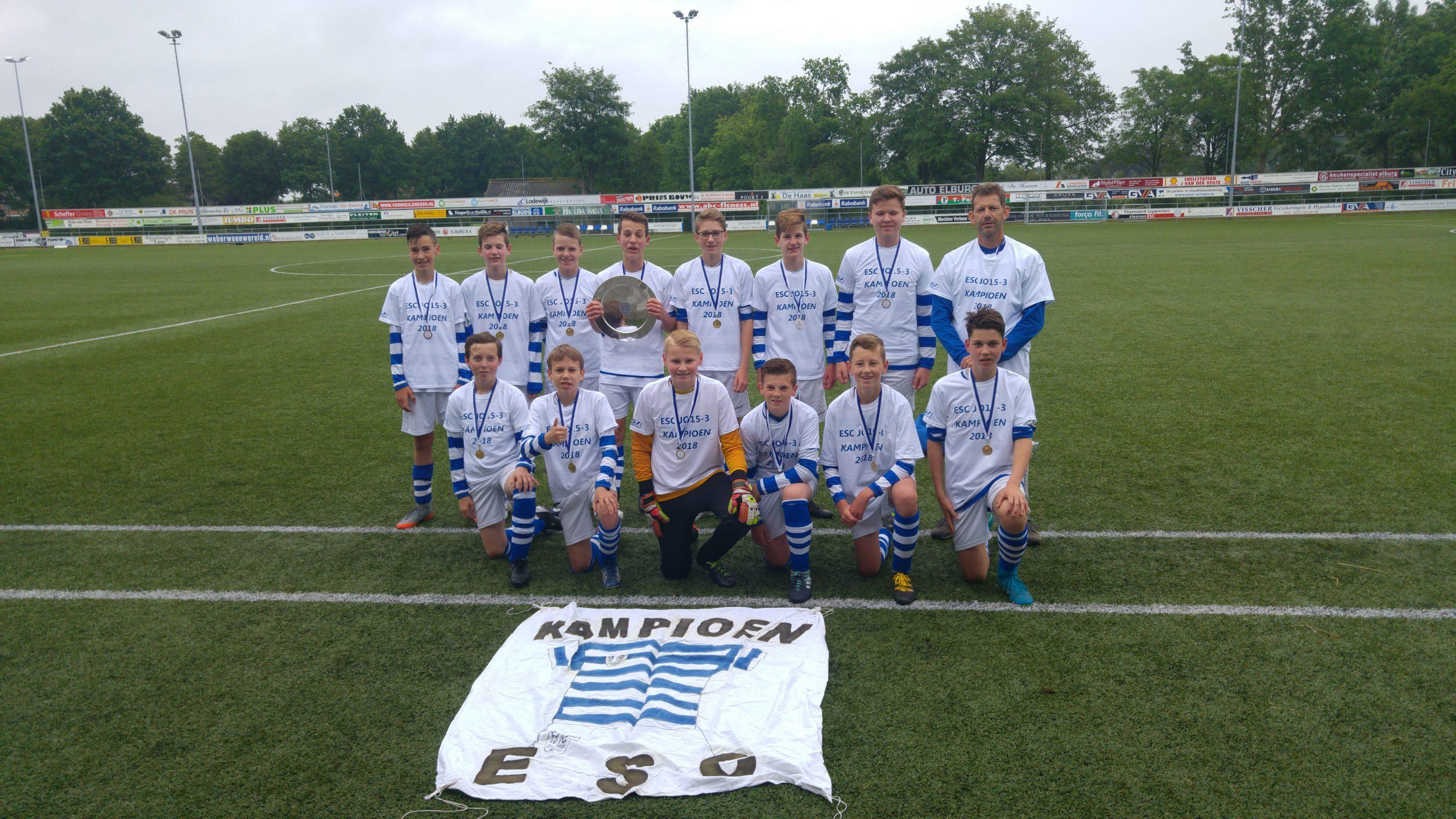 JO15-3 Kampioen - Elburger SC