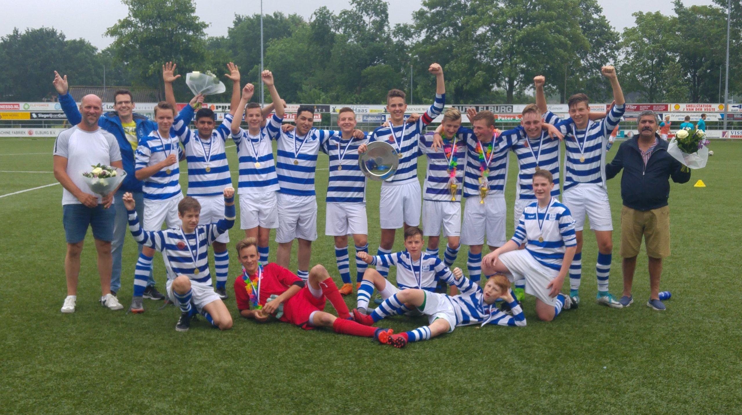 JO17-3 Kampioen - Elburger SC