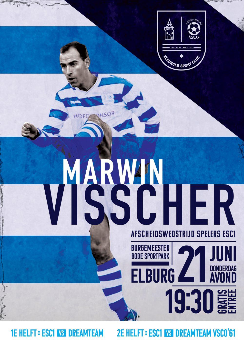 Afscheidswedstrijd ESC 1 - Elburger SC