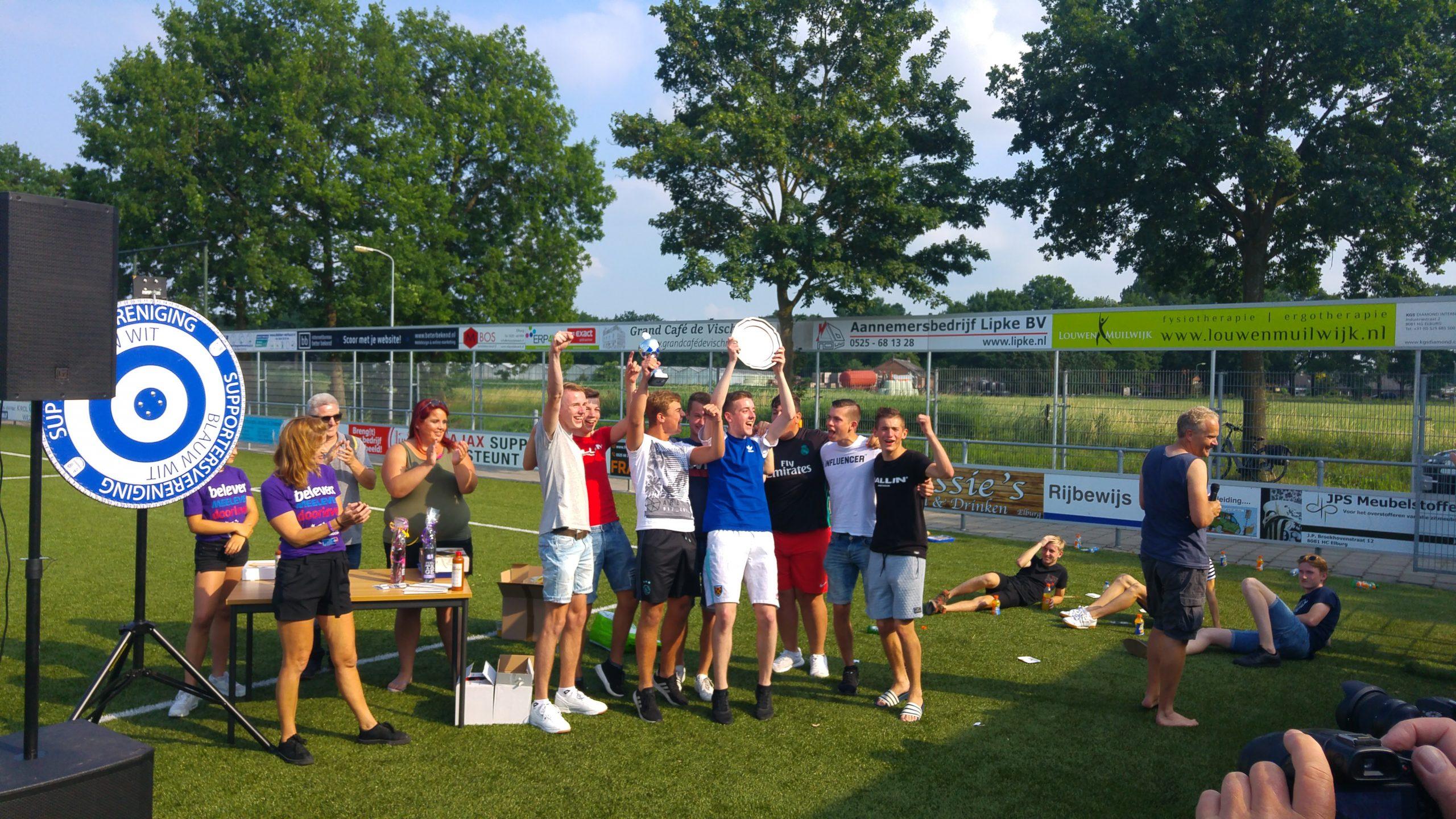 Cafe De Haven winaar sponsortoernooi - Elburger SC