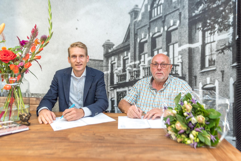 De Passende Woning nieuwe bordsponsor - Elburger SC