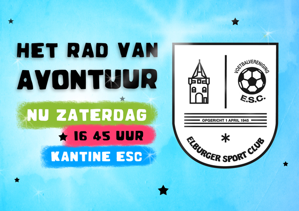 As. zaterdag: Rad van Avontuur - Elburger SC