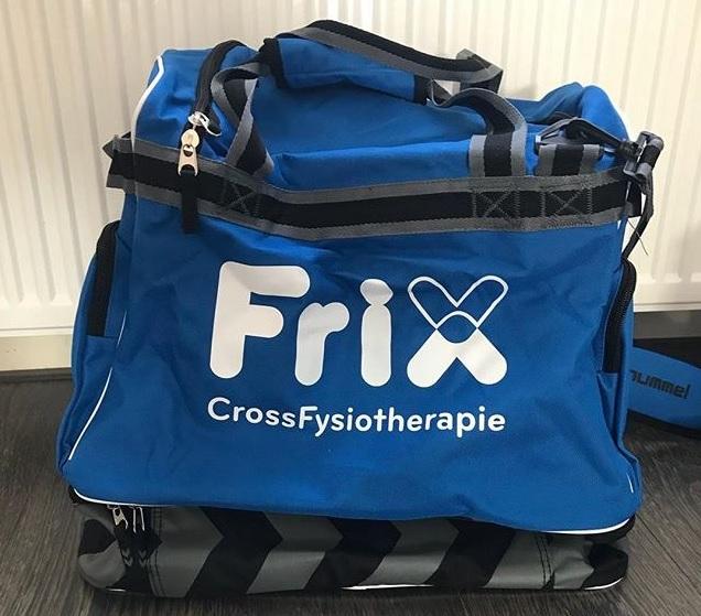 Frix CrossFysiotherapie sponsort ESC 5 met nieuwe tassen - Elburger SC