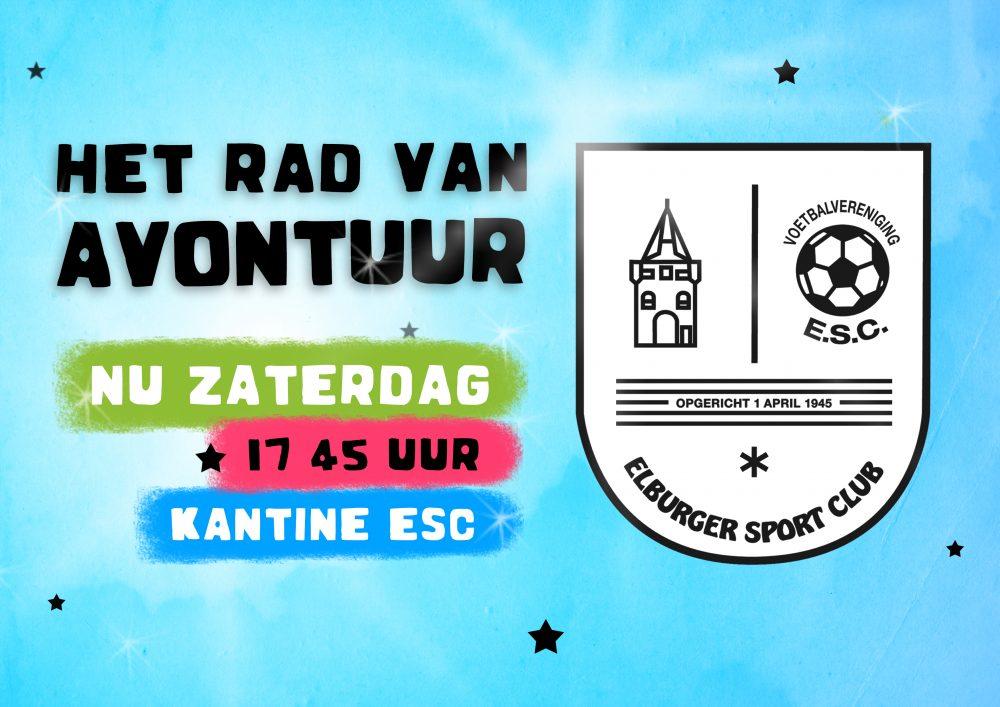 SUPERRAD as. zaterdag tijdens ESC – VSCO - Elburger SC