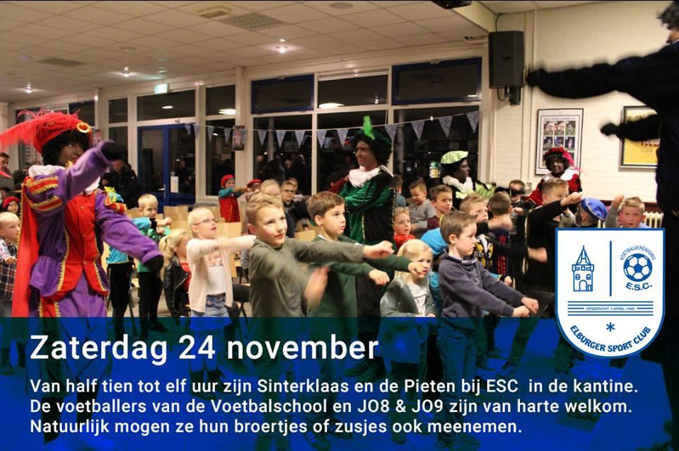 Sinterklaas zaterdag 24 november - Elburger SC