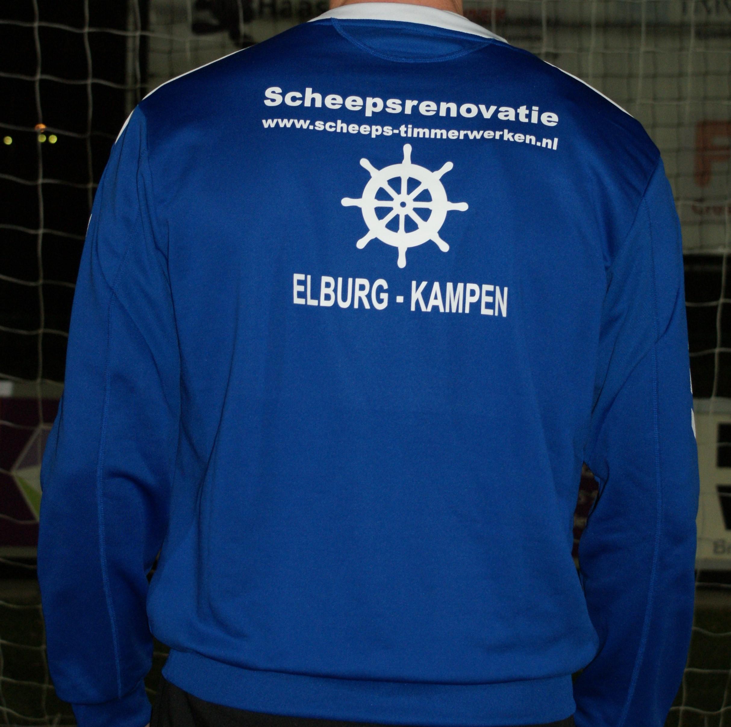 Nieuwe trainingskleren E.S.C. 1 - Elburger SC