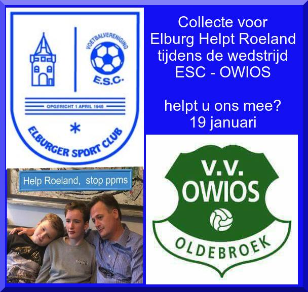 """Loermeeuw actie """"Elburg Helpt Roeland"""" - Elburger SC"""