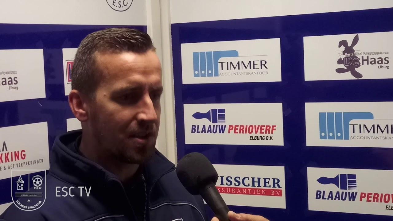 Patrick Posthuma en Elburger SC gaan aan het einde van het seizoen uit elkaar - Elburger SC