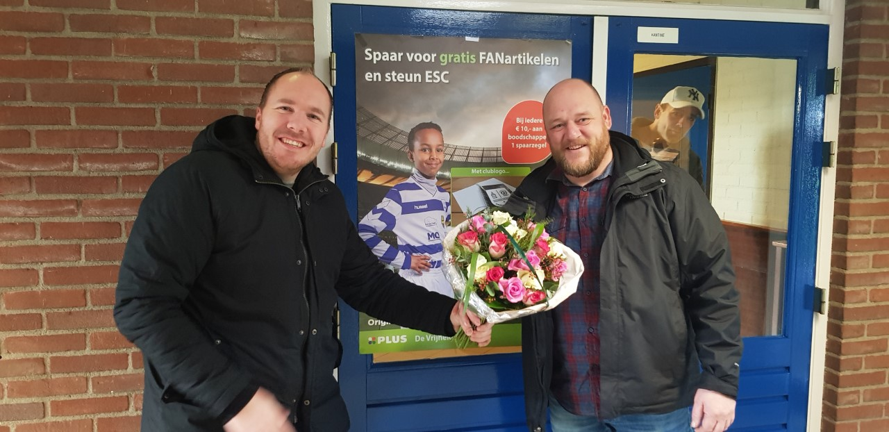 Clubfund actie – Hovenier Mattijs - Elburger SC