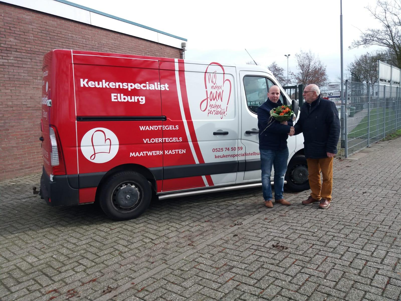 Keukenspecialist Elburg nieuwe bordsponsor - Elburger SC