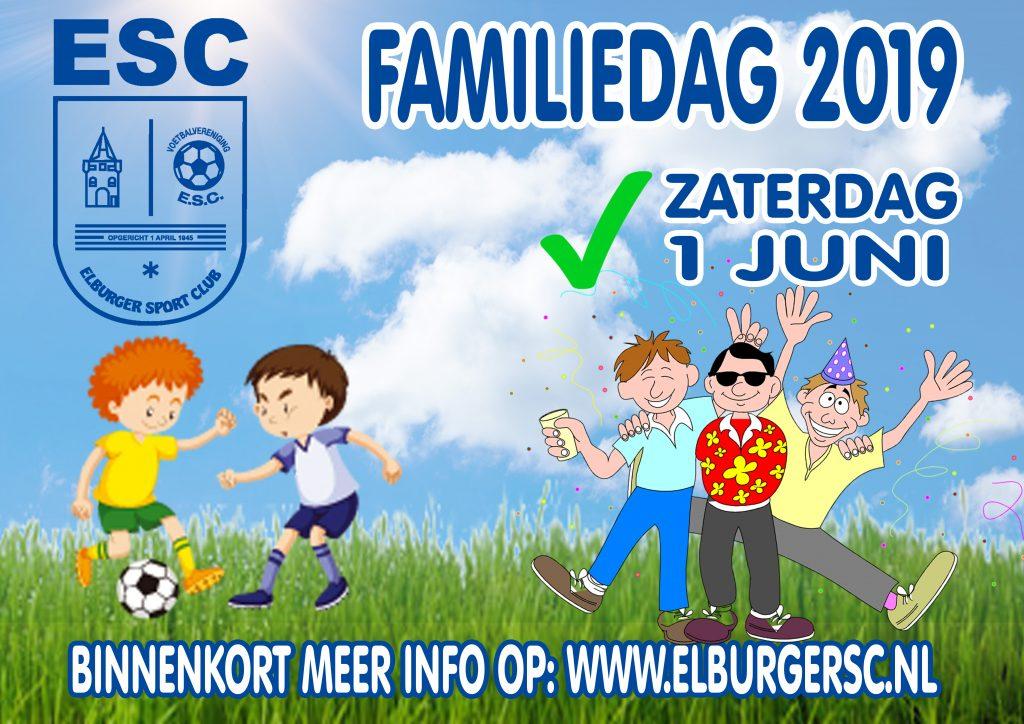 ElburgerSC - Aankondiging familiedag