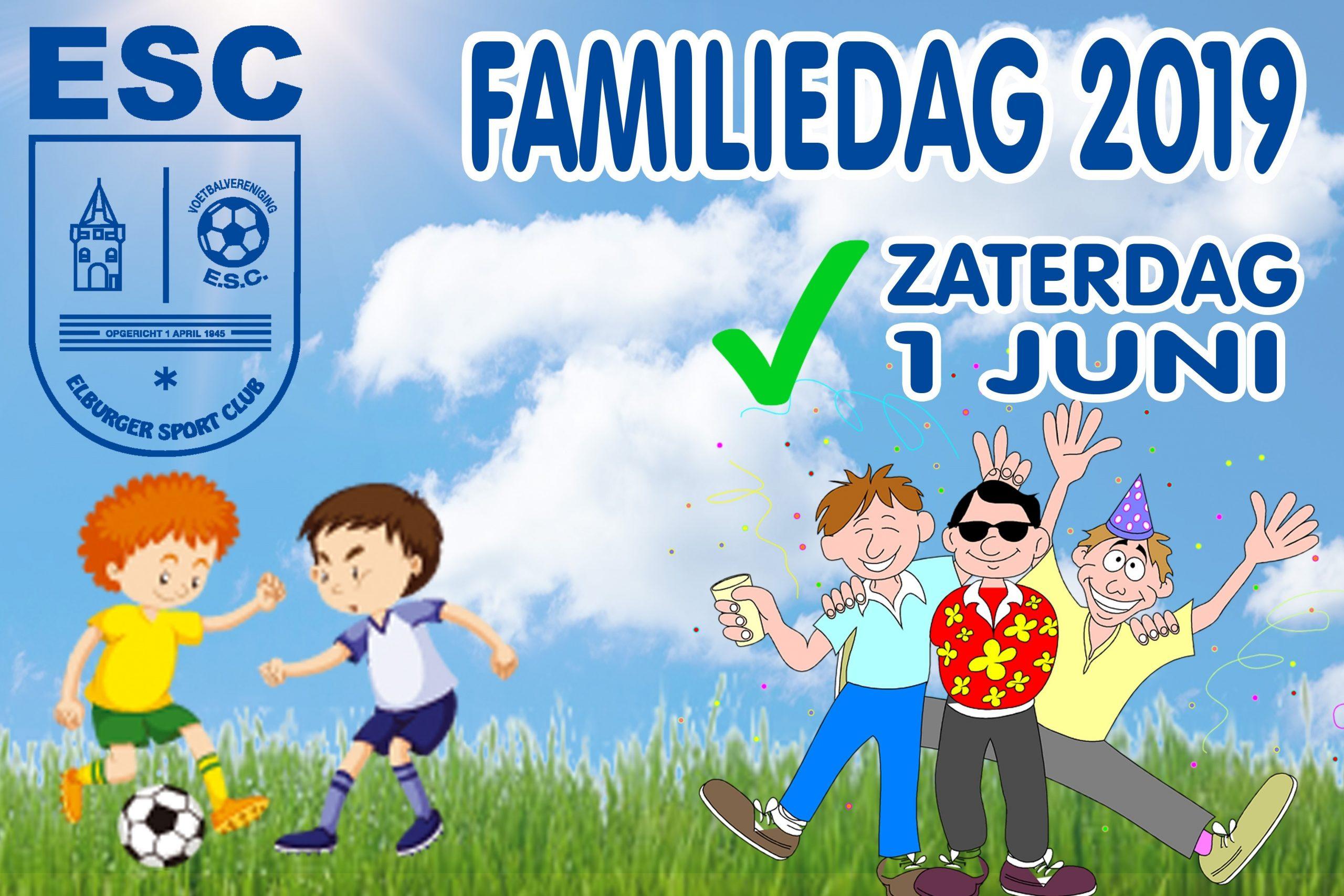 Aanstaande zaterdag familiedag - Elburger SC