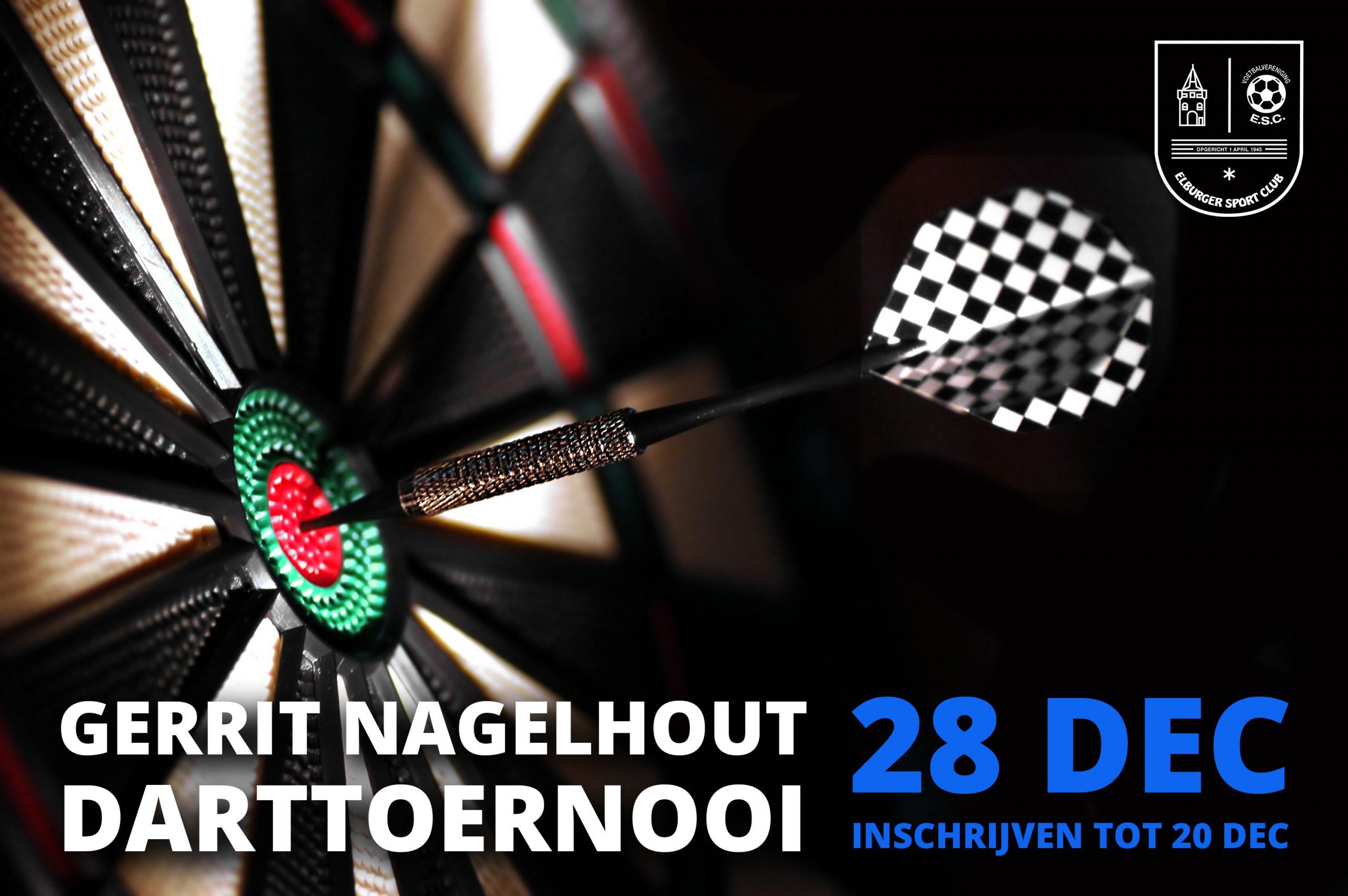 Gerrit Nagelhout Darttoernooi 2019 - Elburger SC