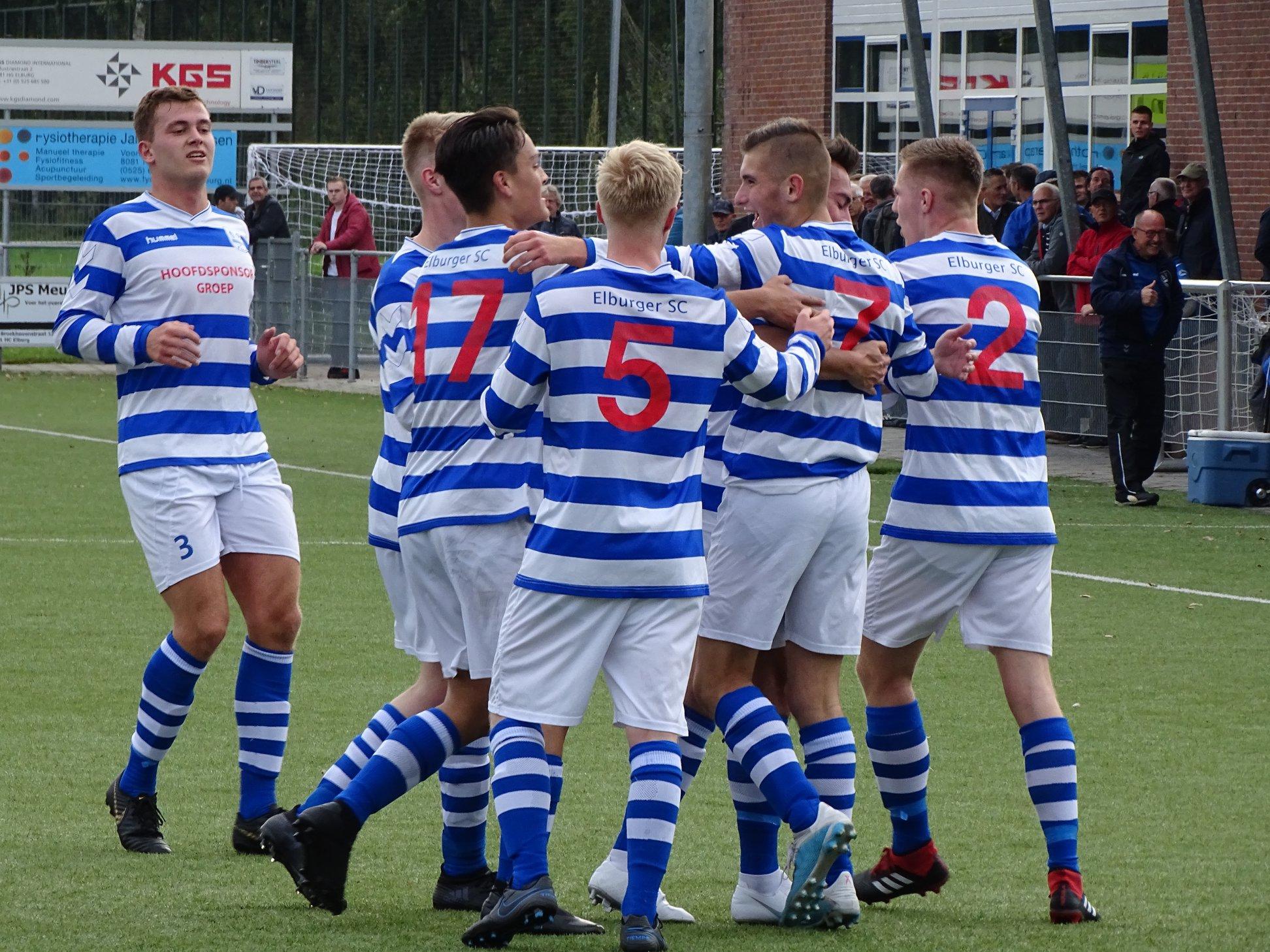 Bekerwinst voor Elburger Sportclub tegen VEVO; 2-0 - Elburger SC