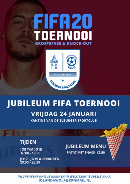 ElburgerSC - Jubileum FIFA toernooi