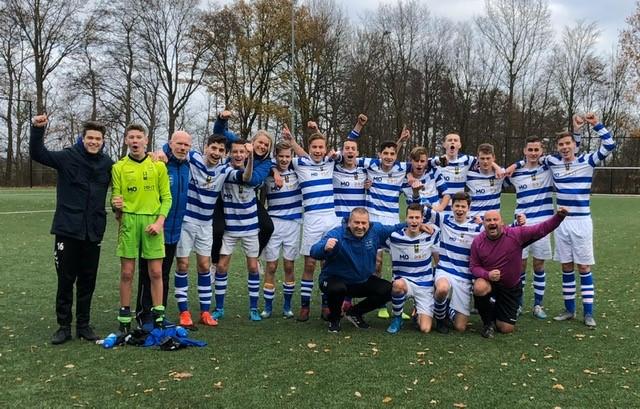 ESC O17-1 mag zich 'Herbstmeister' noemen - Elburger SC