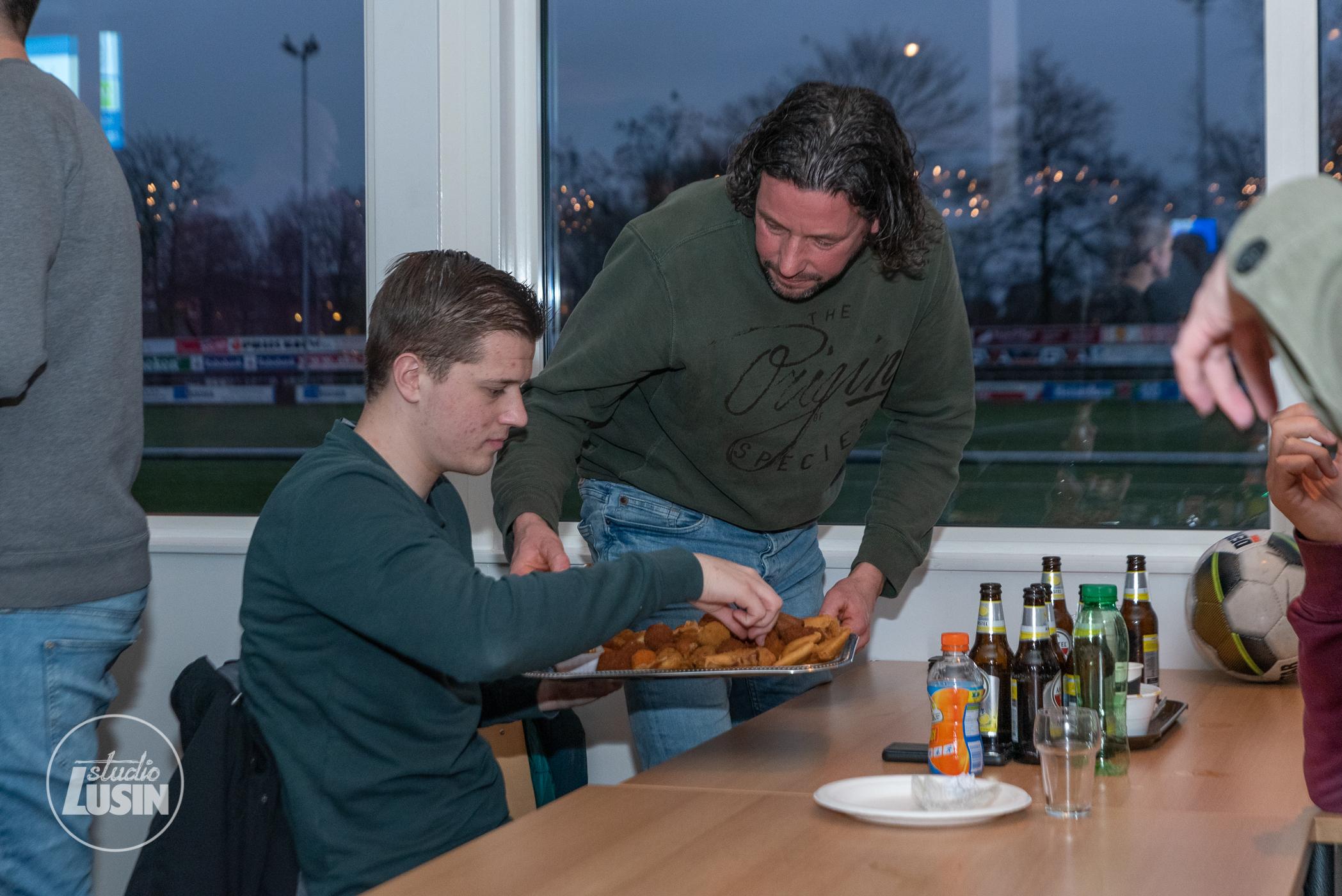Foto's nieuwjaarsreceptie - Elburger SC