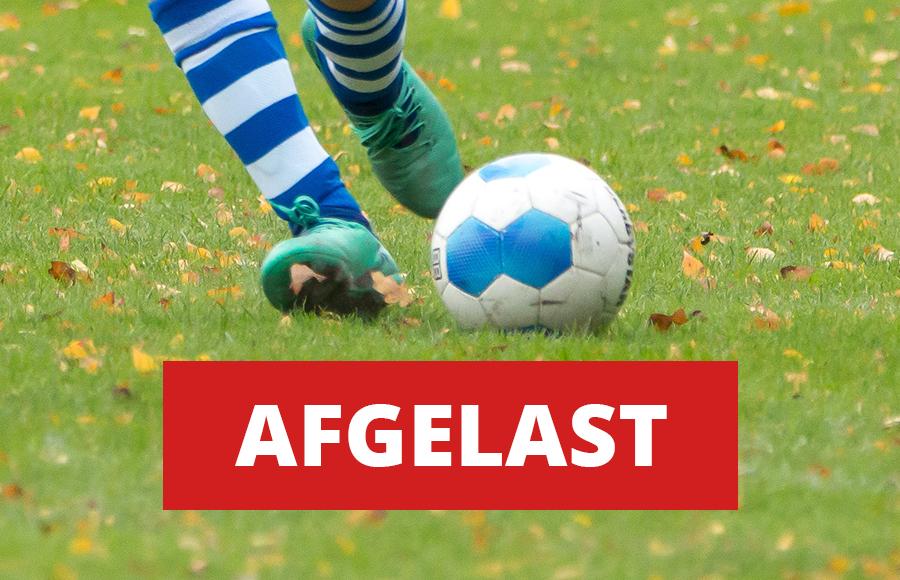 ElburgerSC - Wedstrijd eerste elftal afgelast