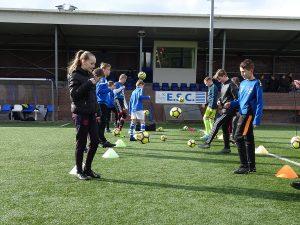 ElburgerSC - Veel enthousiasme bij clinic PEC Zwolle