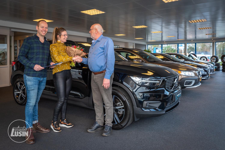 Autobedrijf A. Janse Volvo Specialist nieuwe bordsponsor Elburger SC - Elburger SC