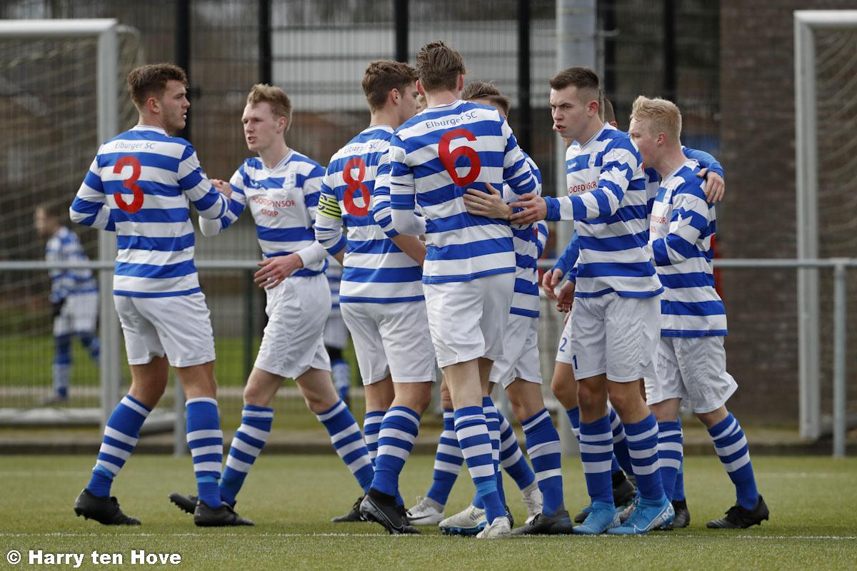 Eindelijk weer eens overwinning voor Elburger Sportclub - Elburger SC