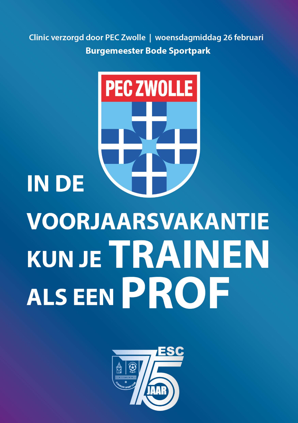 Clinic PEC Zwolle - Elburger SC