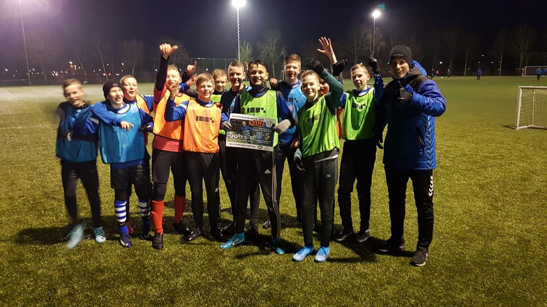 ESC JO15-1 winnaar worstenactie - Elburger SC