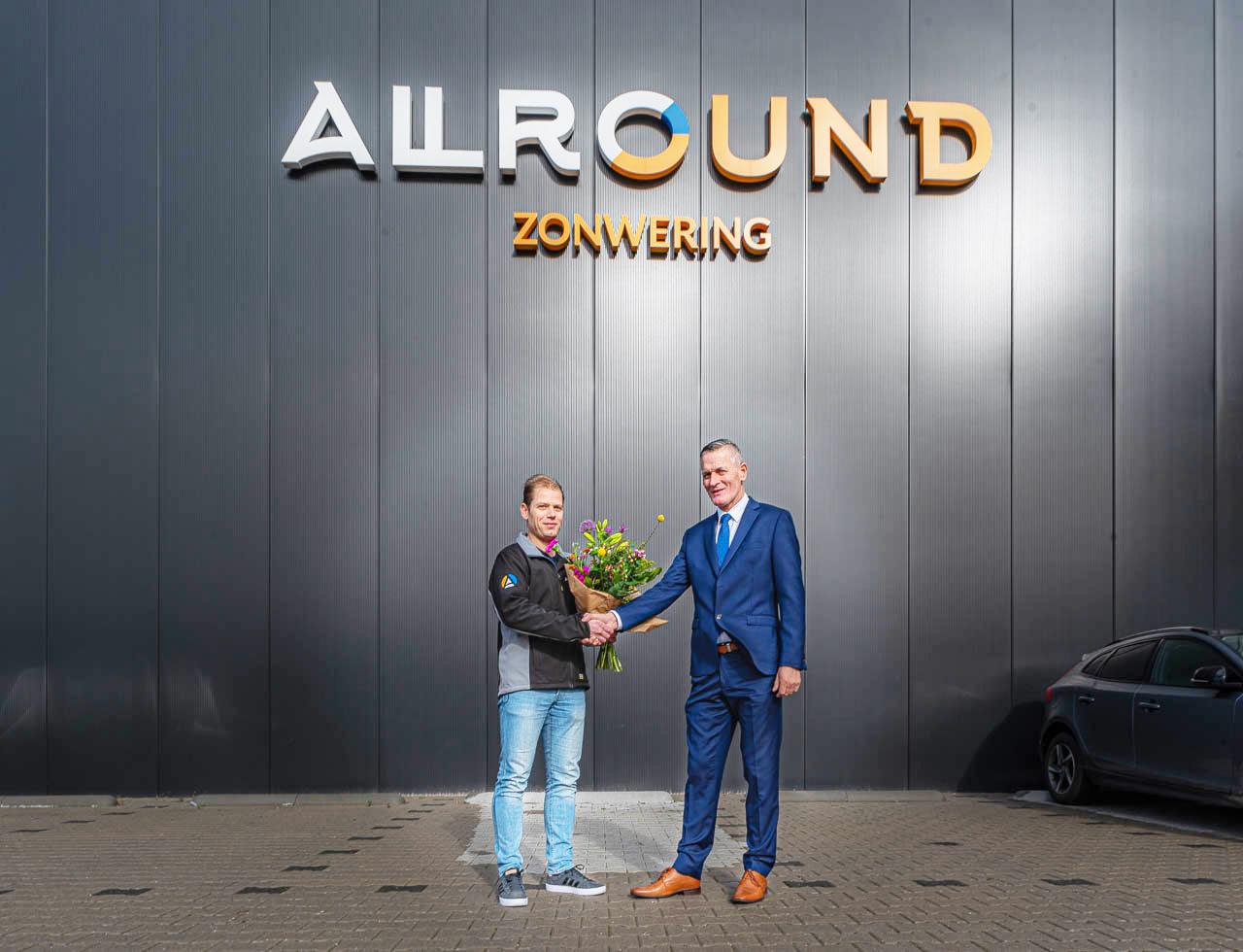 Allround Zonwering nieuwe sponsor - Elburger SC