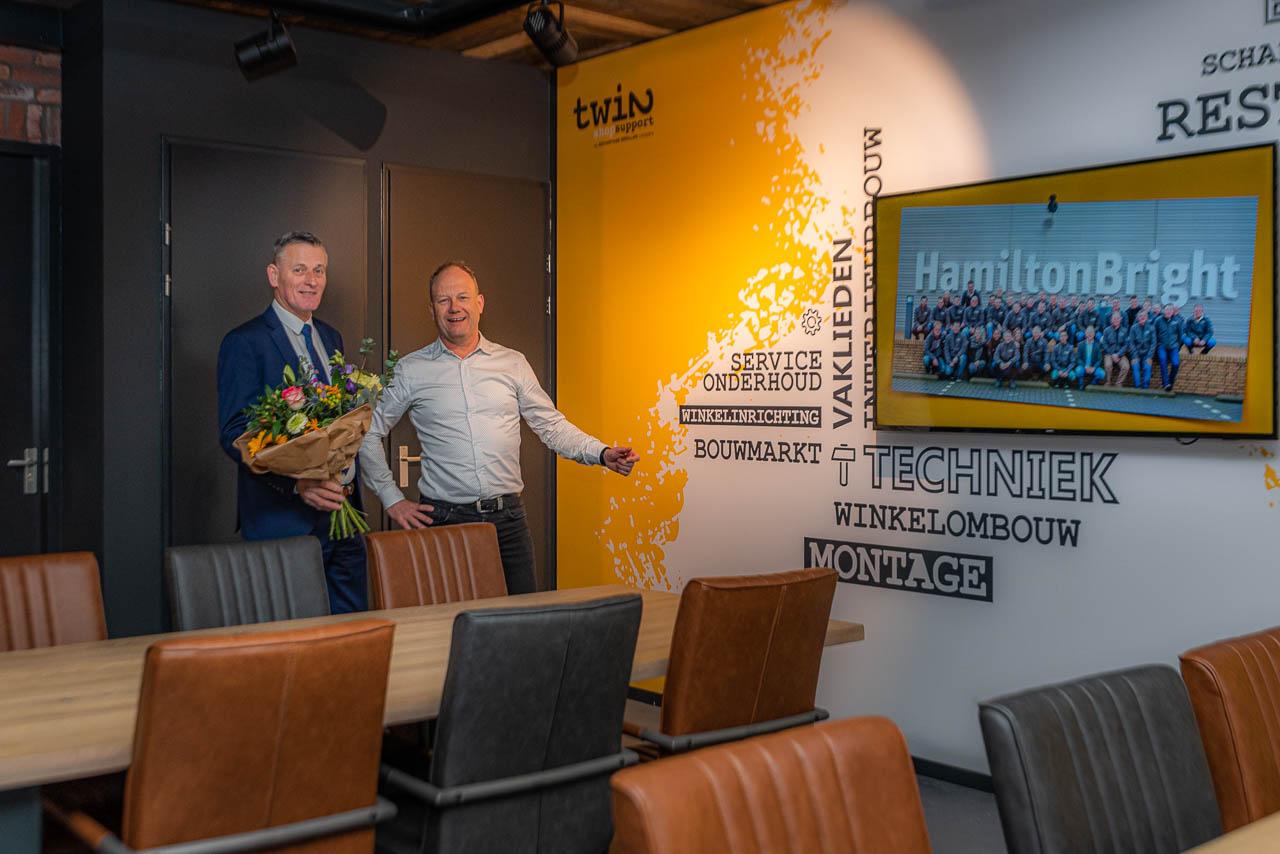 Twin Shop Support Elburg (Hamilton Bright Group) nieuwe sponsor - Elburger SC