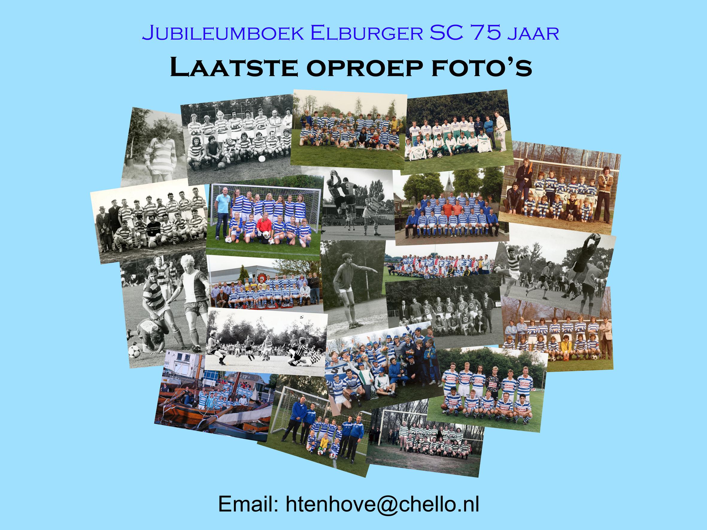 Foto's jubileumboek - Elburger SC