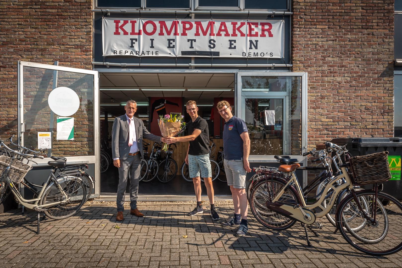Klompmaker Fietsen nieuwe bordsponsor - Elburger SC