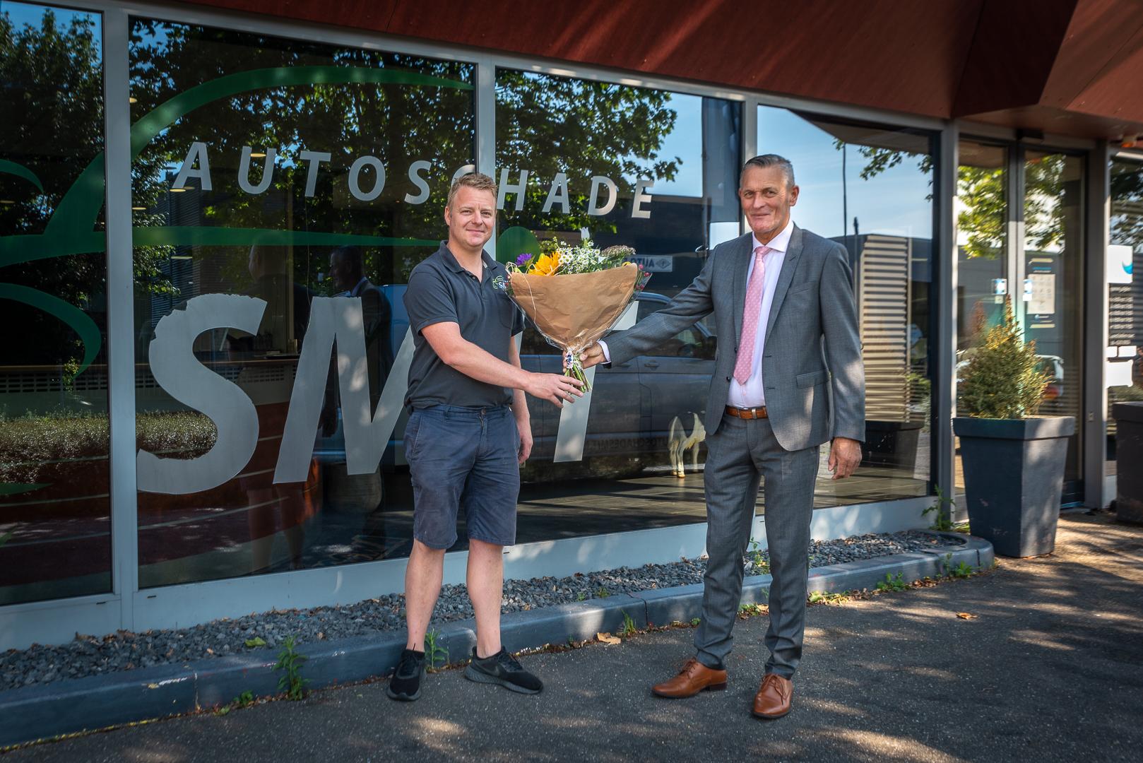 Autoschade Smit nieuwe bordsponsor - Elburger SC