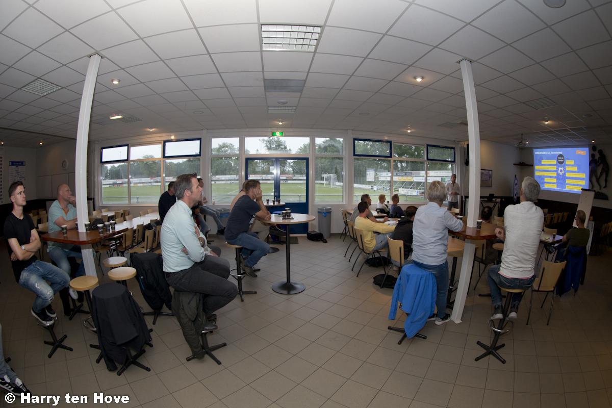 Presentatieavond Visie op Voetbal - Elburger SC
