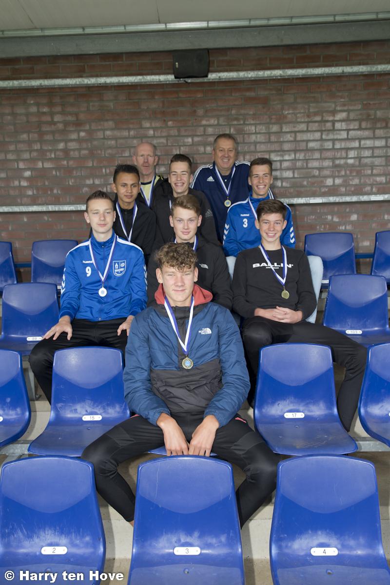 Huldiging kampioenen 2019 Elburger SC door de gemeente Elburg - Elburger SC