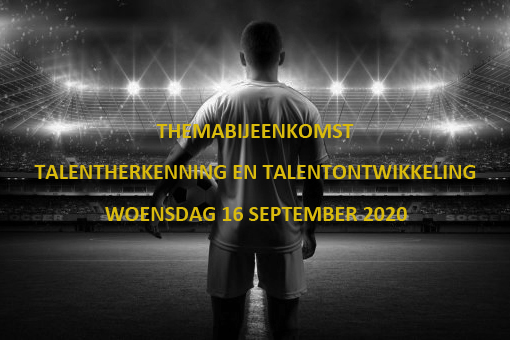 Themabijeenkomst visie op talent - Elburger SC