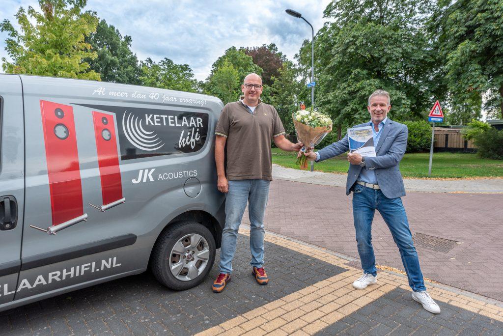 ElburgerSC - Ketelaar Hifi nieuwe bordsponsor!